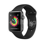 Apple Watch Series 3 GPS, 42mm Space Grey Aluminium Case, Black Sport Band 1ks