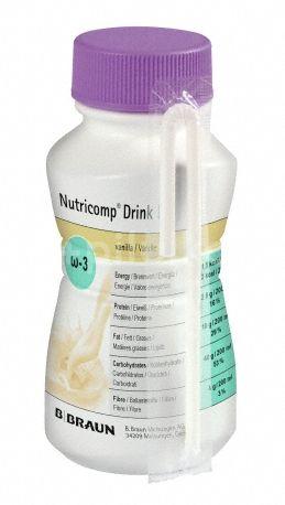 B.Braun Nutricomp Drink D Vanilka perorální roztok 4x200ml