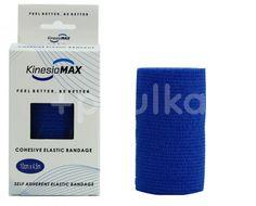 KinesioMAX Cohesive elast.samofix.10cmx4.5m modré