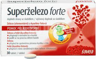 Superželezo forte 30 tablet