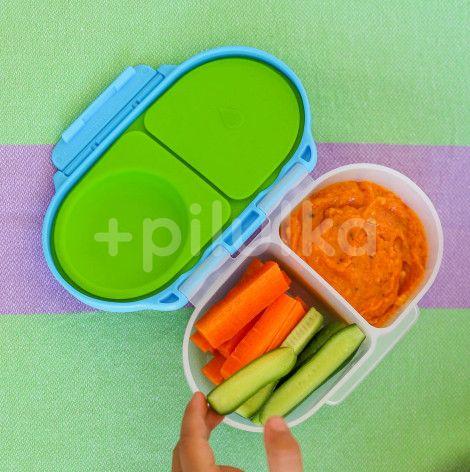 B.box Svačinový box malý - růžový/oranžový