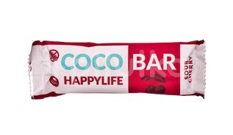 HAPPYLIFE COCO BAR - Kokosová tyčinka s višněmi BIO 40g
