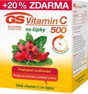 GS Vitamín C 500 se šípky 50+10 tablet
