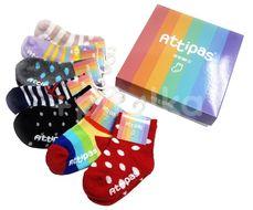 Attipas Ponožky Set Mix 7 párů