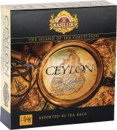 BASILUR The Island of Tea Assorted 40 gastro sáčků