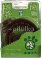 Menforsan Přírodní antiparazitní obojek pro psy odpuzující klíšťata a blechy 60cm