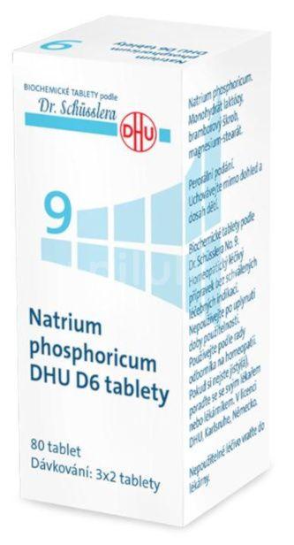 No.9 Natrium phosphoricum DHU 80 tablet D5-D30