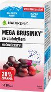 NatureVia Mega brusinky 50+10cps