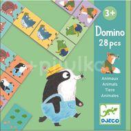 Djeco Domino Lesní zvířátka