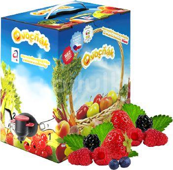 Ovocňák mošt jablko-lesní ovoce 3l