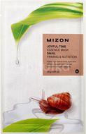 Mizon Joyful Time Essence Mask Snail Vyživující plátýnková maska se zpevňujícím účinkem 23g