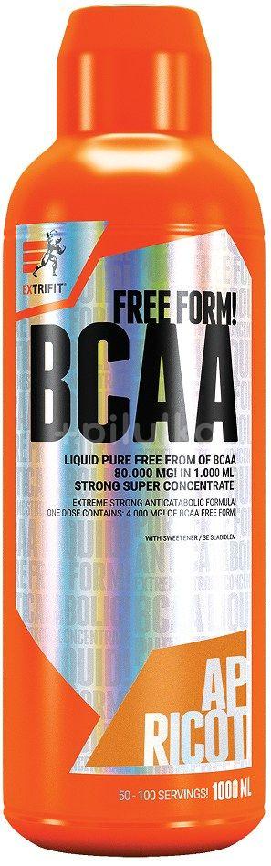 Extrifit BCAA 80000 Liquid 1000ml meruňka