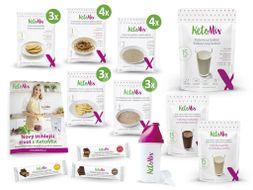 KetoMix ketonová ochutnávková dieta na 7 dní 35 porcí