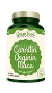 GreenFood Nutrition Carnitin Arginin Maca 90kapslí