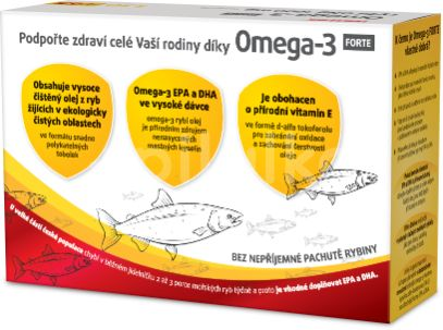 Walmark Omega 3 Forte 130+65 tobolek