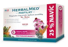 HerbalMed Dr.Weiss Echininacea-rakytník 24+6 pastilek