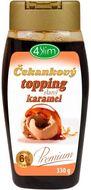 4Slim Čekankový topping slaný karamel 330g