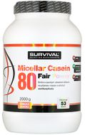 Survival Nutrition Micellar Casein 80 Fair Power vanilka-jahoda 2000g