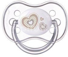 Canpol babies Dudlík 0-6m silikonový anatomický NEWBORN BABY béžový