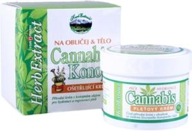 Herb Extract Cannabis Pleťový krém s konopným olejem 75ml