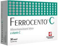 Ferrocento C PharmaSuisse Mikroenkapsulované železo 30 tablet