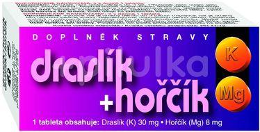 Naturvita Draslík+hořčík 60 tablet