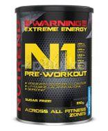 Nutrend N1 Pre-Workout modrá malina 510g