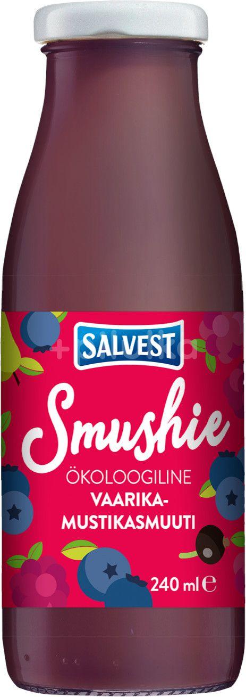 Salvest Smushie BIO Ovocné smoothie s borůvkami, malinami a černým rybízem 240ml