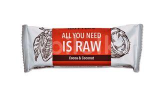 HAPPYBAR - kakaová tyčinka s kokosem bio & raw 50g