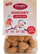 Biopekárna Zemanka BIO Kokosky s javorovým sirupem 100g