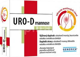 Gerenica URO-D mannose 20 tablet