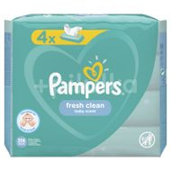 Pampers ubrousky Fresh Clean 4x52ks