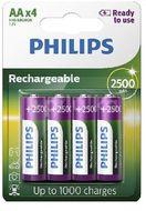 Philips Nabíjecí baterie AA R6B4RTU25/10 4ks