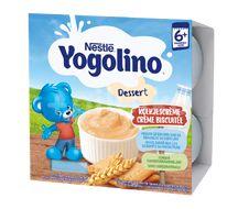 Nestlé Yogolino Mléčný dezert Sušenka 4x100g