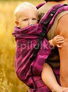 Kinder Hop Rostoucí ergonomické nosítko Multi Grow Dots Pink, 100% bavlna, žakár