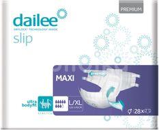 Dailee Zalepovací kalhotky Slip Premium Maxi L/XL 28ks
