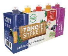 Take it Shake it Pštros mix ovocný nápoj 5x20ml
