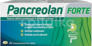 Pancreolan forte 6000U 60 tablet