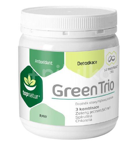 Topnatur Green Trio Chlorella+Spirulina+Zelený ječmen 540 tablet