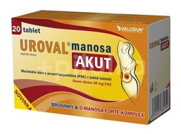 Walmark Uroval Manosa AKUT 20 tablet