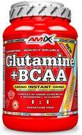 AMIX L-Glutamine + BCAA - powder, Lesní ovoce, 1000g