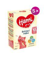 Hami Batolecí mléko od uk. 12. měsíce 5x600g
