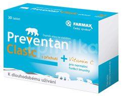 Preventan Clasic s příchutí 30 tablet