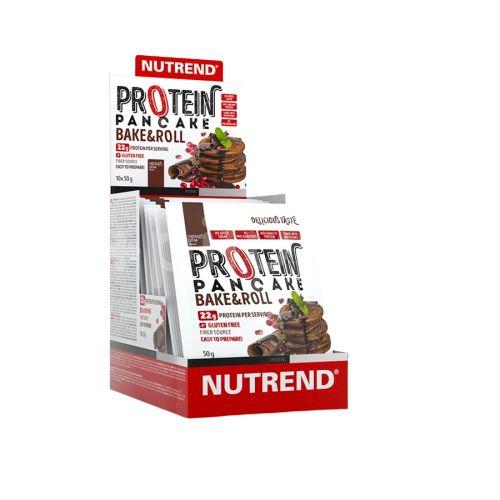 Nutrend Protein Pancake Čokoláda & kakao 10x50g