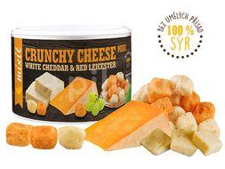 Mixit Křupavý sýr: White Cheddar & Red Leicester 70g