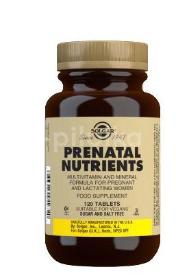 Solgar Prenatal – Multivitamín pro těhotné a kojící ženy 120tbl