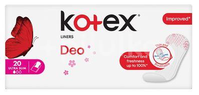 Kotex Lux liners Superslim Deo 20ks