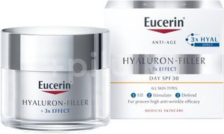 Eucerin Hyaluron-Filler + 3xEffect denní krém pro normální a smíšenou pleť 50ml