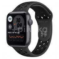 Apple Watch Nike SE GPS, 44mm Space Gray Aluminium Case, Anthracite/Black Nike Sport Band, Regular 1ks