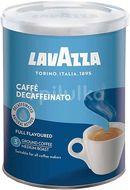 Lavazza Caffè Decaffeinato (bez kofeinu) - mletá káva v dóze, 250g